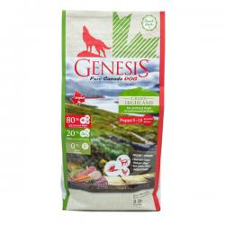 Корм для собак Genesis Pure Canada Green Highland Puppy