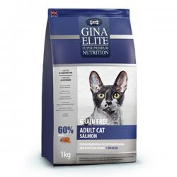 Корм для кошек Gina Elite Adult Cat Salmon Grain Free