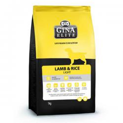 Корм Gina Elite Dog Light Lamb & Rice