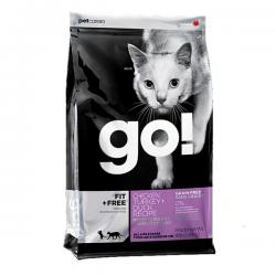 Корм GO! Fit + Free Grain Free Chicken, Turkey, Duck Cat Recipe