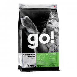 Корм для кошек Go! Sensitivity+Shine Cat Skin & Coat Support — Freshwater Trout+Salmon Grain Free