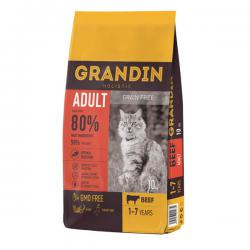 Корм для кошек Grandin Adult Cat Beef Grain Free