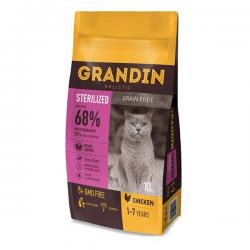 Корм для кошек Grandin Cat Sterilized Chicken Grain Free