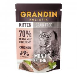 Корм для котят Grandin Kitten Chicken Grain Free