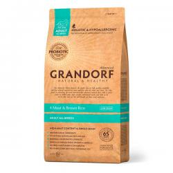Корм для собак Grandorf Adult All Breeds 4 Meat & Brown Rice Hypoallergenic