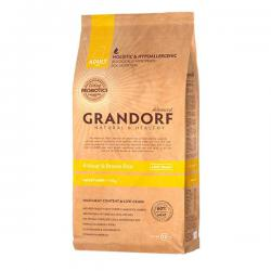 Корм для собак Grandorf Adult Mini 4 Meat & Brown Rice Hypoallergenic