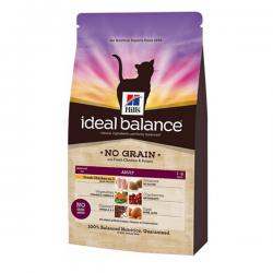 Hill's Ideal Balance Feline Adult – No grain with Fresh Chicken and Potato