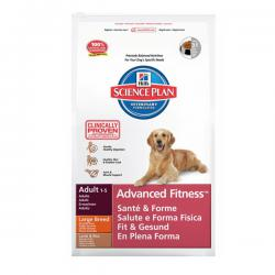 Hill's Science Plan Canine Adult Advanced Fitness Large Breed Lamb & Rice