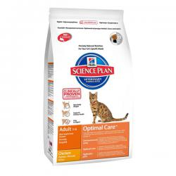 Корм для кошек Hill's Science Plan Feline Adult Optimal Care Chiсken