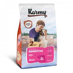 Корм для собак Karmy Adult Dog Sensitive Mini «Лосось»