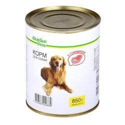 Корм для собак Каждый день «С говядиной»