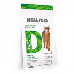 Корм для кошек Mealfeel Adult Cat Digest Sensitive Turkey & Salmon