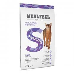 Корм для кошек Mealfeel Cat Sterilized Lamb