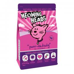 Корм для кошек Meowing Heads «Purr-Nickety» Salmon, Chicken & Fish