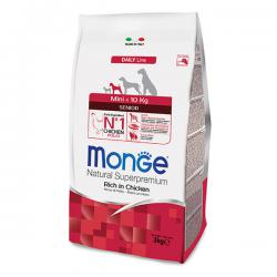 Корм Monge Daily Line Mini Senior Rich in Chicken