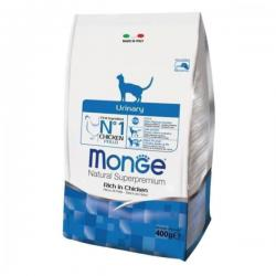 Корм для кошек Monge Natural Adult Cat Urinary Rich in Chicken