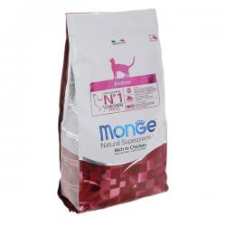 Корм для кошек Monge Natural Cat Indoor Rich in Chicken