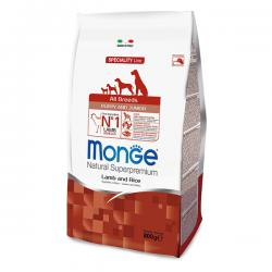 Корм для щенков Monge Speciality Line Puppy & Junior All Breeds Lamb & Rice