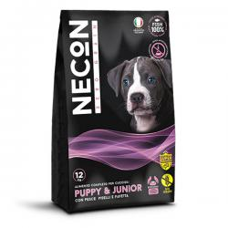 Корм для собак Necon Puppy & Junior Fish, Peas and Broad Beans Grain Free