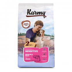Корм для собак Karmy Adult Dog Sensitive Medium & Maxi «Лосось»