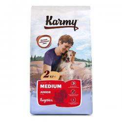 Корм для собак Karmy Junior Medium «Индейка»