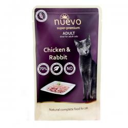 Корм для кошек Nuevo Adult Cat Chicken & Rabbit