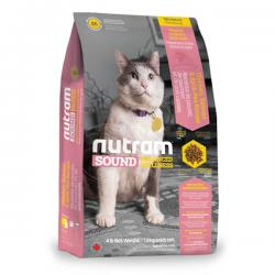 Корм для кошек Nutram Sound Balanced Wellness® S5 Adult & Senior Chicken, Salmon & Split Pea