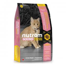 Корм для котят Nutram Sound Balanced Wellness®S1 Kitten Chicken, Salmon & Green Lentil