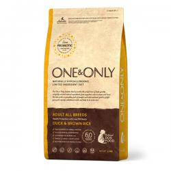 Корм для собак One & Only Adult Dog Duck & Brown Rice Hypoallergenic
