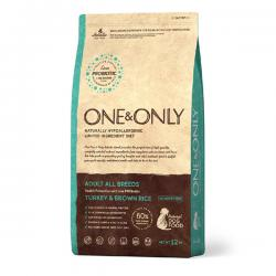 Корм для собак One & Only Adult Dog Turkey & Brown Rice Hypoallergenic