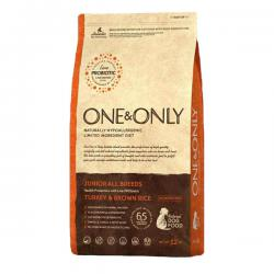 Корм для собак One & Only Junior Turkey & Brown Rice Hypoallergenic