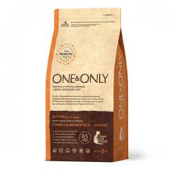 Корм для котят One & Only Kitten Turkey & Brown Rice Monoprotein Hypoallergenic