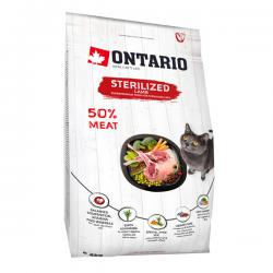 Корм для кошек Ontario Adult Cat Sterilized Lamb