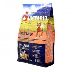 Корм для собак Ontario Adult Dog Large Breed Lamb & Rice
