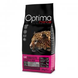 Корм для кошек Optima Nova Adult Cat Exquisite Chicken & Rice