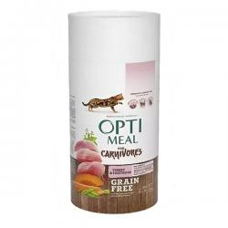 Корм для кошек Optimeal for Carnivores Adult Cat Turkey & Vegetables Grain Free