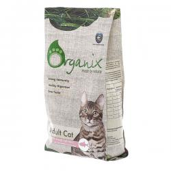 Корм для кошек Organix Adult Cat with Fresh Salmon
