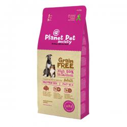 Корм для собак Planet Pet Society Adult Dog Salmon Grain Free