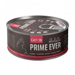 Корм для кошек Prime Ever Cat 1B — Tuna Topped With Crab Meat