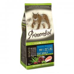Корм для кошек Primordial Adult Cat Holistic Salmon Tuna Grain Free