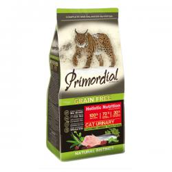 Корм для кошек Primordial Adult Cat Holistic Urinary Turkey Herring Grain Free