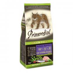 Корм для кошек Primordial Adult Cat Sterilized Turkey Herring Grain Free