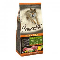 Корм для собак Primordial Adult Dog Holistic Deer & Turkey Grain Free