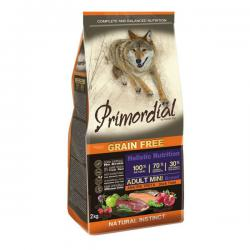 Корм для собак Primordial Adult Dog Mini Holistic Duck Trout Grain Free