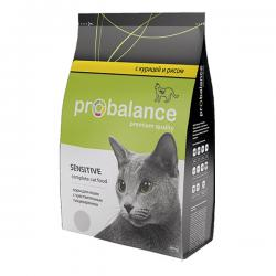 Корм для кошек Probalance Cat Sensitive Chicken & Rice
