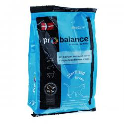 Корм ProBalance Sterilized for Cats