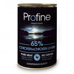 Корм Profine Dog Chicken & Chicken Liver