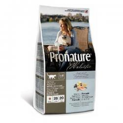Pronature Holistic Cat Adult Indoor Skin & Coat Atlantic Salmon & Brown Rice