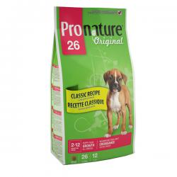Pronature Original 26 Puppy – Growth All Breeds Lamb & Rice
