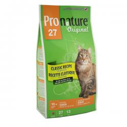 Pronature Original 27 Cat – Senior Mature or Less Active Chicken no Corn, no Wheat, no Soy